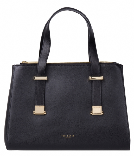 ameliee grain tote black ted baker the little green bag. Black Bedroom Furniture Sets. Home Design Ideas