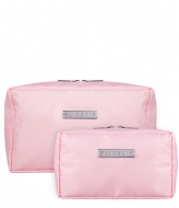 SUITSUIT Fabulous Fifties Duo Set Toiletry Bag + Make-up Bag pink dust (26823)