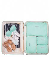 SUITSUIT Fifties Packing Cube Set 28 Inch luminous mint (26917)