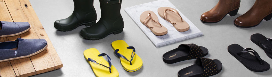 The White Brand Schuhe & Flip-Flops